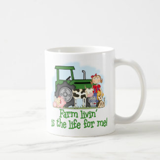 Farm Livin' (Girl) Coffee Mug