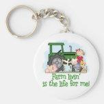 Farm Livin' (Girl) Keychains