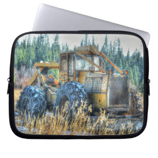 Farm Machinery, Tractor, Back-Hoe, Farm Vehicle Computer Sleeve