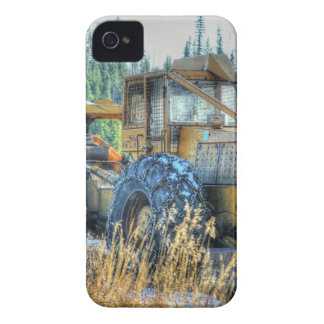 Farm Machinery, Tractor, Back-Hoe, Farm Vehicle iPhone 4 Cover