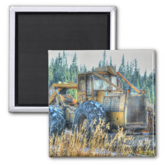 Farm Machinery, Tractor, Back-Hoe, Farm Vehicle Magnet