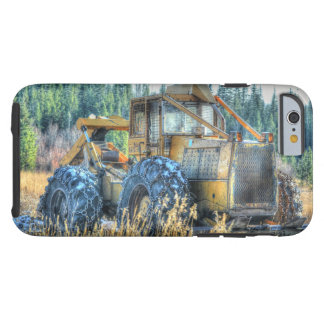 Farm Machinery, Tractor, Back-Hoe, Farm Vehicle Tough iPhone 6 Case