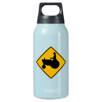 Farm Machinery Traffic, Traffic Warning Sign, USA Insulated Water Bottle