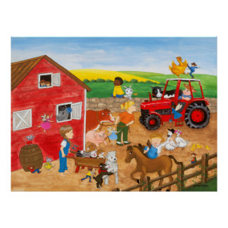 Farm Magic Poster