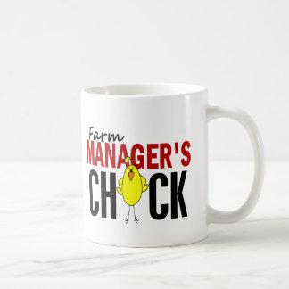 Farm Manager's Chick Coffee Mug