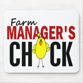 Farm Manager's Chick Mouse Pad
