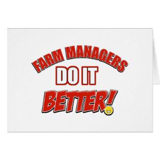 Farm Managers designs Card