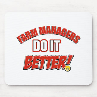 Farm Managers designs Mouse Pad