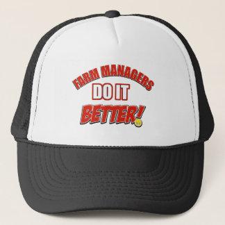 Farm Managers designs Trucker Hat