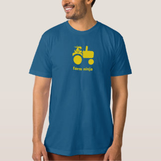 Farm Ninja - Tractor - yellow T-Shirt