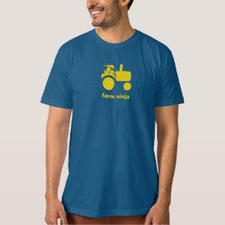 Farm Ninja - Tractor - yellow Tee Shirt