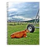 farm note books
