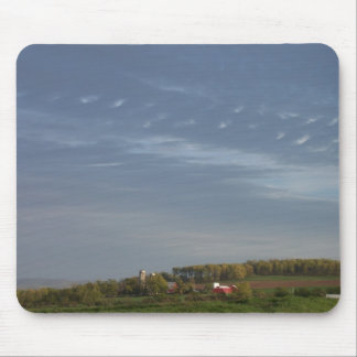 Farm on a Hill Mouse Pad