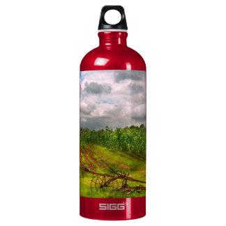 Farm - Organic farming Aluminum Water Bottle