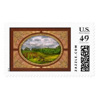 Farm - Organic farming Stamps