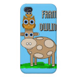 farm owling iPhone 4/4S covers