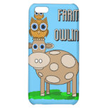 farm owling iPhone 5C covers