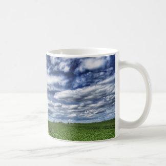 Farm Path Skyscape HDR Coffee Mug