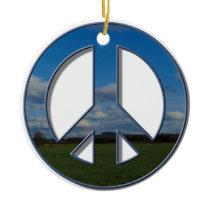 Farm Peace Ornament