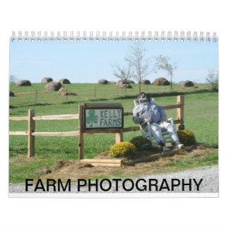 FARM PHOTOGRAPHY CALENDAR