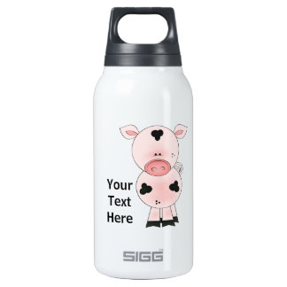Farm Pig (personalized) Insulated Water Bottle