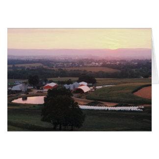 Farm Pond II, Mountville Rd., Md. + W.Va. Card