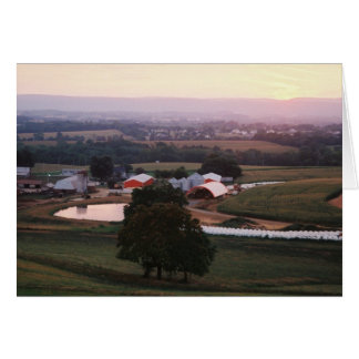 Farm Pond III at Dawn, Mountville Rd., Middletown Card