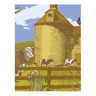 Farm Post Card