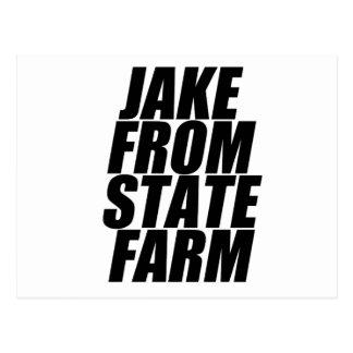 farm postcard