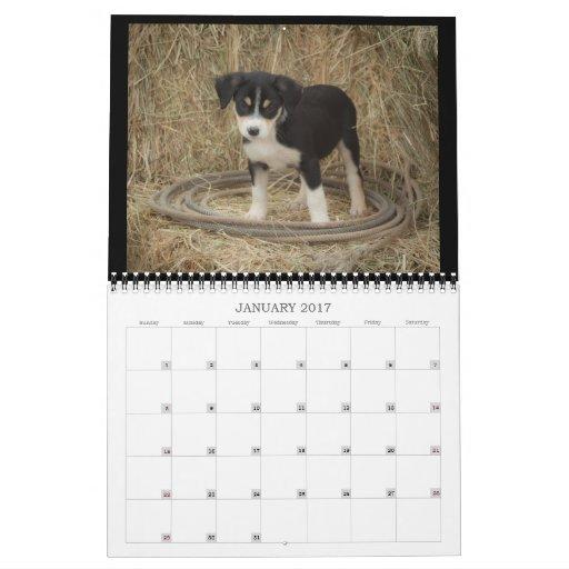 Farm Puppies Calendar