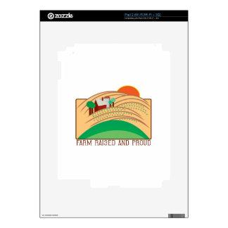 Farm Raised And Proud Skins For iPad 2