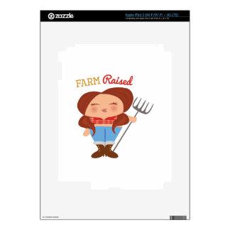 Farm Raised iPad 3 Skins
