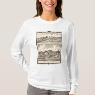 Farm, residences & pipe works T-Shirt