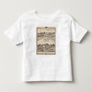 Farm, residences & pipe works toddler t-shirt