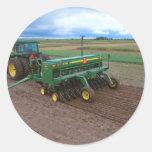 Farm Round Sticker