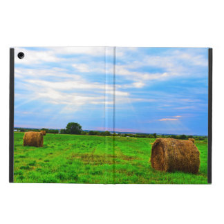 Farm scene iPad case
