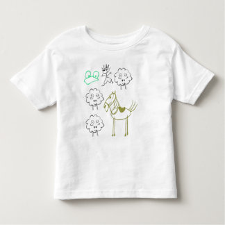 Farm Scene Toddler T-shirt