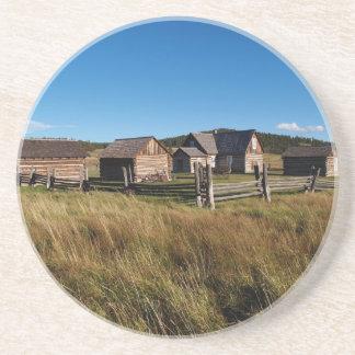 Farm Series---Adeline Hornbek Homestead Coaster