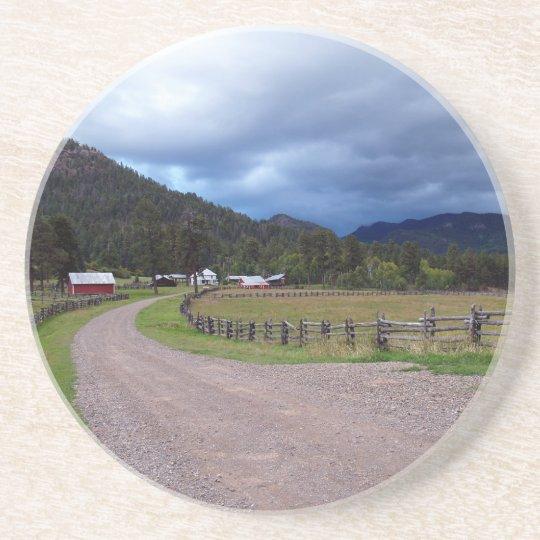 Farm Series---Colorado Homestead Coaster