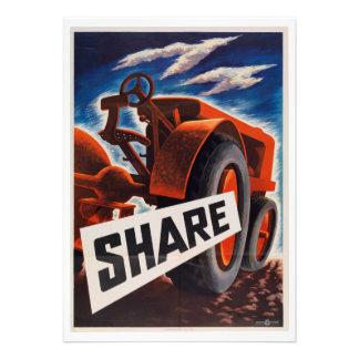 Farm Share Custom Invitation