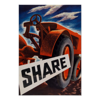 Farm Share Poster