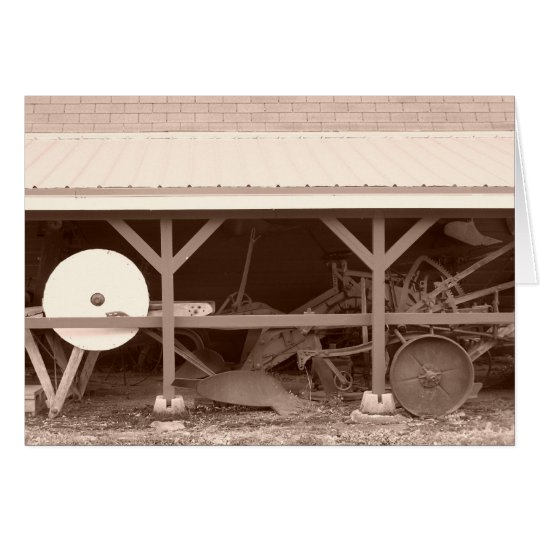 Farm Shed Card