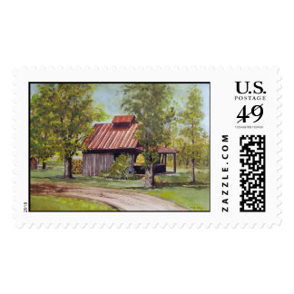 Farm Shed- stamps