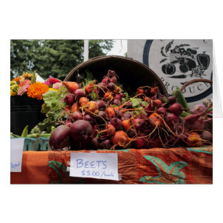 Farm Stand Beets Card