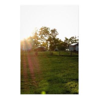 Farm Sunset Stationery