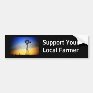 Farm Support Bumper Sticker - Customized Car Bumper Sticker