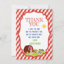 FARM THANK YOU CARD