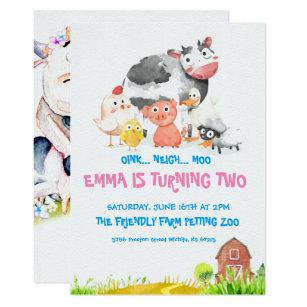 farm theme invitations zazzle