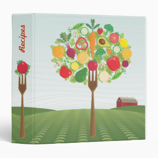 Farm to Fork Recipe Binder