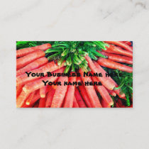 Farm to Market Produce Business Cards
